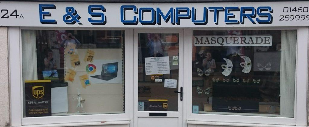 E & S Computers Shop Front